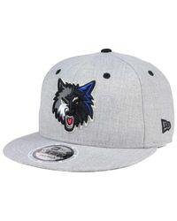 premium selection 9add5 c4a4d Men s Minnesota Timberwolves Total Reflective 9fifty Snapback Cap