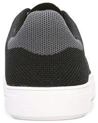 Dr. Scholls - Black Desperado Knit Lace-up Sneakers for Men - Lyst