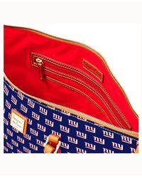 Dooney & Bourke - Blue New York Giants Zip Top Shopper - Lyst