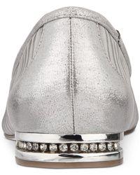 Adrianna Papell - Metallic Tiffany Pointed-toe Evening Flats - Lyst