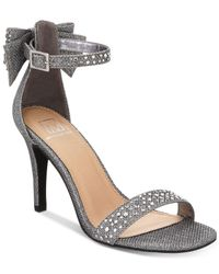 Material Girl - Multicolor Beverly Bow Dress Sandals, Created For Macy's - Lyst