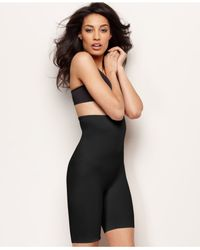 Miraclesuit | Black Extra Firm Control High Waist Real Smooth Thigh Slimmer 2759 | Lyst