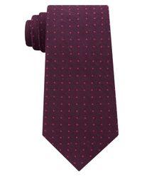 CALVIN KLEIN 205W39NYC - Purple Men's Tonal Dot Tie for Men - Lyst
