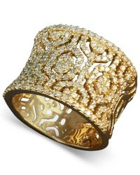 Effy Collection - Metallic D'oro By Effy Diamond Hexagon Ring (3/4 Ct. T.w.) In 14k Gold - Lyst