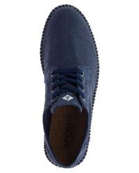 Sperry Top-Sider - Blue Camden Oxford Canvas Shoes for Men - Lyst