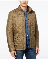 Barbour - Brown Flyweight Chelsea Quilted Jacket for Men - Lyst