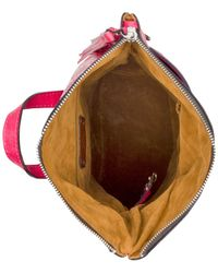 Patricia Nash - Pink Burnished Tooled Luzille Convertible Small Backpack - Lyst