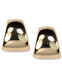 Anne Klein | Multicolor Gold-tone Button Post Earrings | Lyst