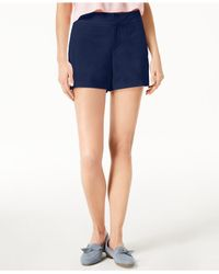 """Maison Jules - Blue 6"""" Shorts, Created For Macy's - Lyst"""