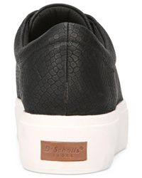 Dr. Scholls - Black Kinney Band Sneakers - Lyst