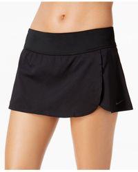 Nike Black Core Swim Skirt