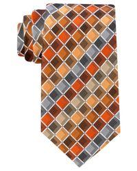 Geoffrey Beene | Orange Men's Ageless Box Ii Tie for Men | Lyst