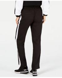 Michael Kors - Black Michael Striped Mkgo Track Pants - Lyst