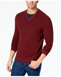 Tommy Bahama - Red Men's Las Palmas Flip Pima Cotton Sweater for Men - Lyst