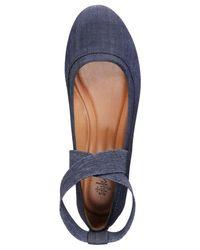 Style & Co. - Blue Beaa Ballet Flats - Lyst
