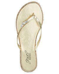 Badgley Mischka - Metallic Thalia Shoes - Lyst