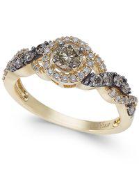Le Vian - Metallic Diamond Ring (3/4 Ct. T.w.) In 14k Gold - Lyst