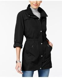 Style & Co. - Black Roll-tab Utility Jacket - Lyst