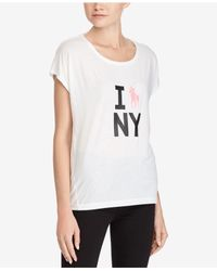 Polo Ralph Lauren - White Pink Pony Jersey Graphic T-shirt - Lyst