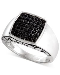 Effy Collection - Multicolor Gento By Effy Men's Black Sapphire Ring (1 Ct. T.w.) In Sterling Silver for Men - Lyst