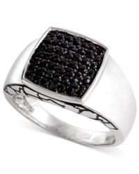 Effy Collection | Multicolor Gento By Effy Men's Black Sapphire Ring (1 Ct. T.w.) In Sterling Silver for Men | Lyst