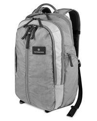 Victorinox | Gray Victorinox Altmont 3.0 Vertical Zip Laptop Backpack for Men | Lyst
