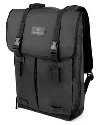 Victorinox | Black Flapover Laptop Backpack, Altmont 3.0 for Men | Lyst