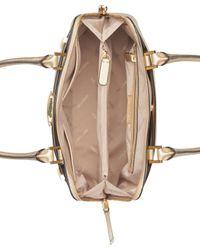 Calvin Klein | Multicolor Brooke Large Dome Satchel | Lyst