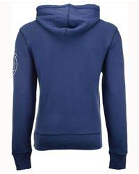 47 Brand Blue Men's Crosscheck Hoodie for men