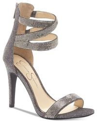 Jessica Simpson | Multicolor Elepina Rhinestone Sandals | Lyst