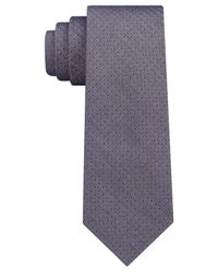 DKNY - Blue Denim Pindot Slim Tie for Men - Lyst