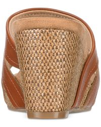 Style & Co. - Brown Women's Juliaa Slide-on Wedges - Lyst
