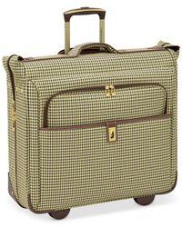 """London Fog - Green Oxford Hyperlight 44"""" Wheeled Garment Bag for Men - Lyst"""