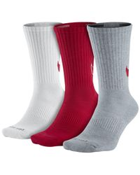 Nike - Multicolor Dri-fit 3-pack Hbr Crew Socks for Men - Lyst