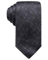 Alfani - Black Men's Reed Dash Silk Tie, Created For Macy's for Men - Lyst