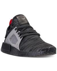 lyst adidas uomini nmd runner rt casual scarpe dal traguardo