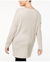 Style & Co. - Multicolor Plus Size Seamed Boat-neck Sweater - Lyst
