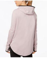 Nike - Pink Sportswear Tech Fleece Cape - Lyst
