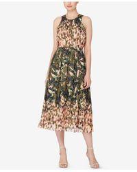 Catherine Malandrino   Multicolor Printed Fit & Flare Dress   Lyst