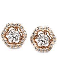 Le Vian - Pink Diamond Diamond Stud Earrings (3/8 Ct. T.w.) In 14k Rose Gold - Lyst
