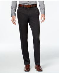 Kenneth Cole Reaction - Gray Slim-fit Low-rise Urban Pants for Men - Lyst