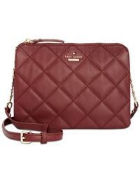 Kate Spade - Red Emerson Place Harbor Crossbody - Lyst