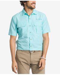 G.H. Bass & Co. | Blue Men's Plaid Explorer Fishing Shirt for Men | Lyst