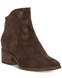 Lucky Brand - Brown Women's Lahela Booties - Lyst