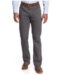 Alfani - Black Slim Fit Pinstripe 5-pocket Pant for Men - Lyst