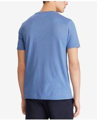 Polo Ralph Lauren Blue Big & Tall Classic Fit Active T-shirt for men