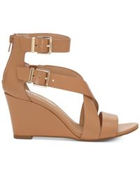 INC International Concepts - Brown Rominia Wedge Sandals - Lyst