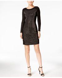 Calvin Klein Black Studded Bodycon Dress