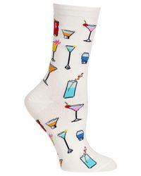 Hot Sox - White Socks, Tropical Drinks Trouser - Lyst