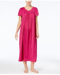 Miss Elaine | Pink Tricot Long Gown | Lyst